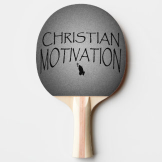 Play For Him Ping Pong Paddle