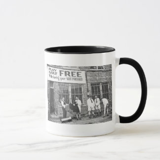 Play Golf Free (While Having Your Suit Pressed) Mug