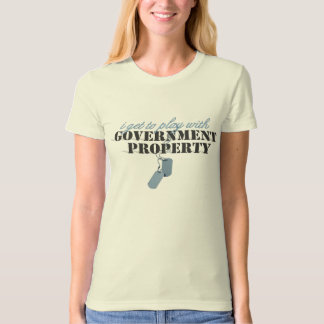 play gov property T-Shirt