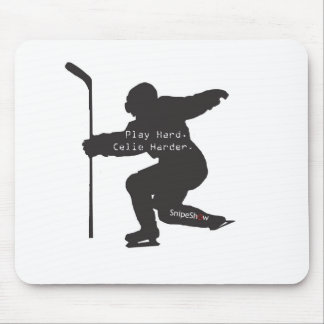 Play Hard. Celie Harder. Mouse Pad