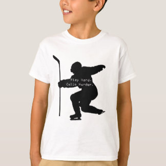 Play Hard. Celie Harder. T-Shirt