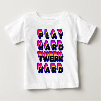 Play Hard Twerk Hard Tee Shirt