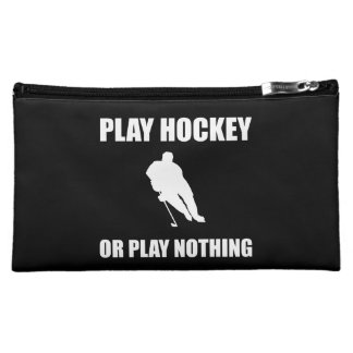 Play Hockey Or Nothing Makeup Bag