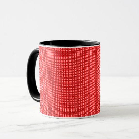 Play-House-Plaid's(c)Orange_Multi Styles & Colours Mug