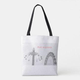 Play in London Tote Bag