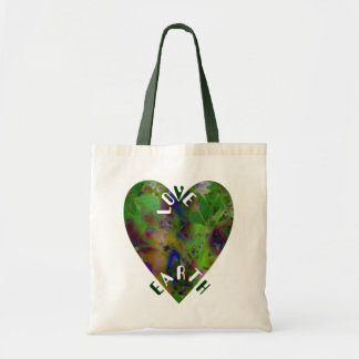 Play In Paint  LOVE EARTH Tote Bag