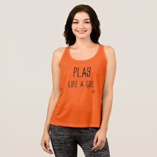 Play Like A GIRL Athletic Tee