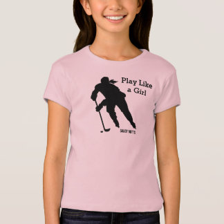Play Like a Girl Hockey T-Shirt