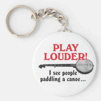 Play Louder Keychain