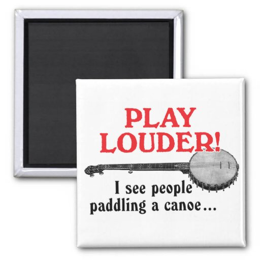 Play Louder Magnet