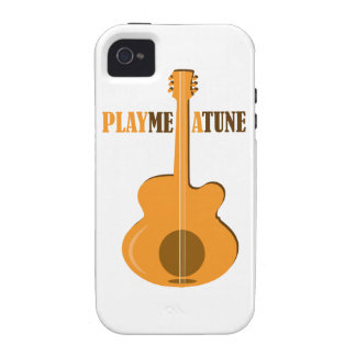 Play Me A Tune Vibe iPhone 4 Cover