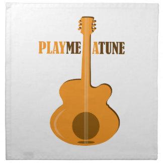Play Me A Tune Printed Napkin