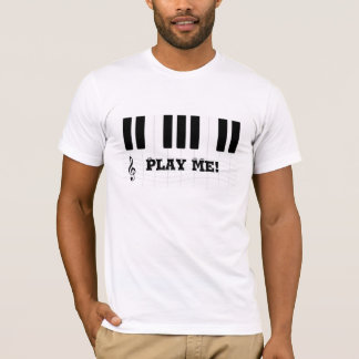 Play Me! Piano T-shirt