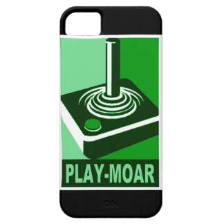 Play-Moar Classic logo Case For The iPhone 5