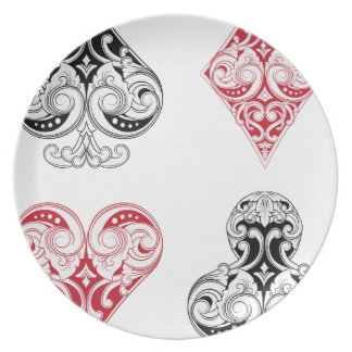 Play More Cards Day - Appreciation Day Party Plate