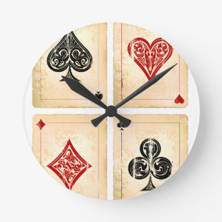 Play More Cards Day - Appreciation Day Round Clock