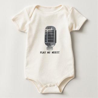 PLAY MY MUSIC BABY BODYSUIT