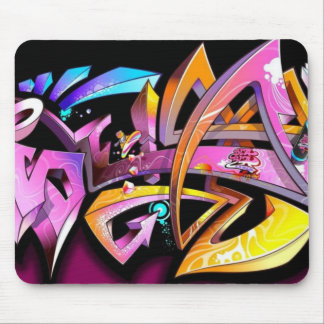 Play of color - mouse pad