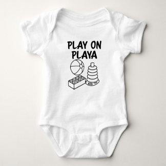 Play on Playa funny baby boy shirt