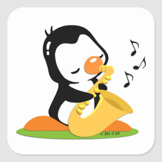 Play Saxophone Sticker