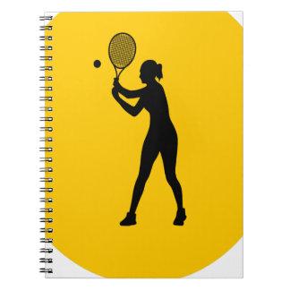 Play Tennis Day - Appreciation Day Spiral Notebook