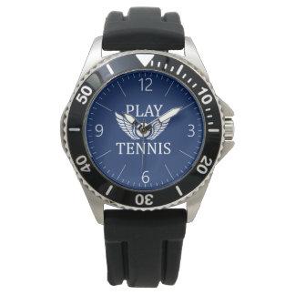 Play tennis watch