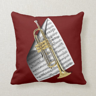 Play that Jazz... Throw Pillow