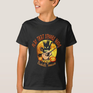 Play That Spooky Music Nashville Kid's T-Shirt