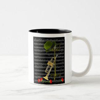 Play the Music... Two-Tone Coffee Mug