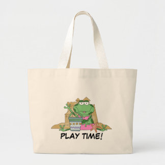Play Time Beach Frog Tote Bag