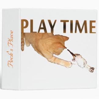 Play Time -Binder 3 Ring Binder