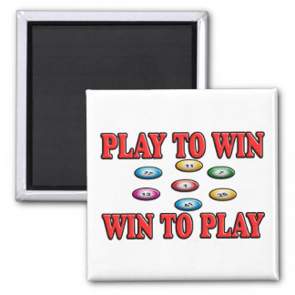 Play To Win - Win To Play - Keno Magnet