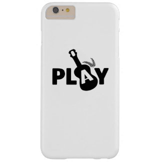 Play Ukulele Uke Music Lover Gift Funny Barely There iPhone 6 Plus Case