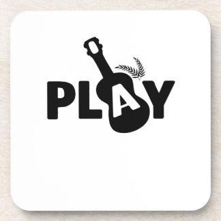 Play Ukulele Uke Music Lover Gift Funny Coaster