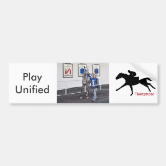 Play Unified by Exchange Rate Bumper Sticker