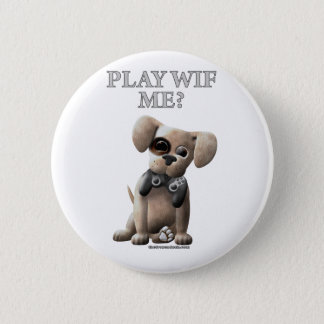 Play Wif Me 2 Inch Round Button