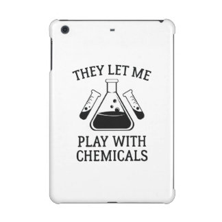 Play With Chemicals iPad Mini Retina Cases