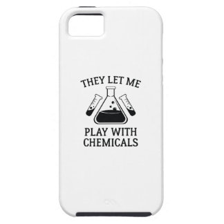 Play With Chemicals iPhone 5 Cover