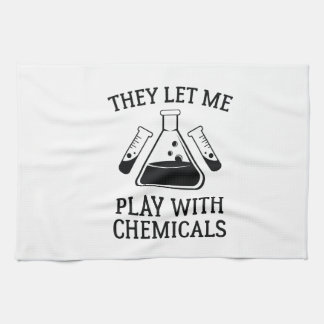 Play With Chemicals Kitchen Towel