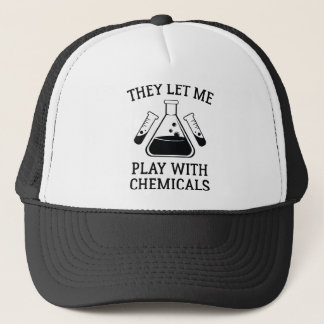 Play With Chemicals Trucker Hat