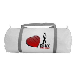 Play With Heart Volleyball Gym Bag