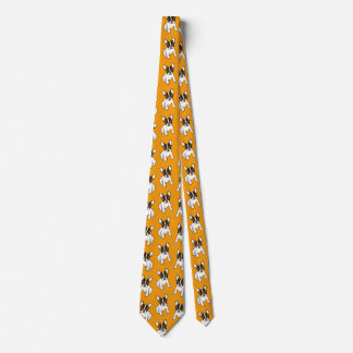 Play With Me Frenchie Design Tie