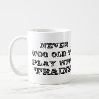 Play with trains coffee mug