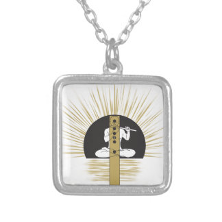 Play Your Tune Silver Plated Necklace