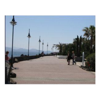 Playa Blanca, Promenade, Lanzarote Postcard