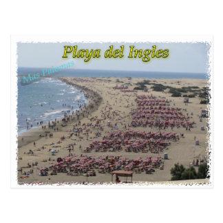 Playa del Ingles Postcard