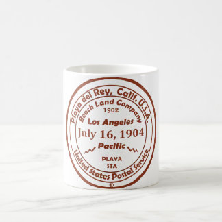 Playa del Rey is Born - July 16, 1904 Coffee Mug