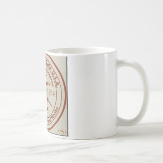 Playa del Rey Post Office 1904 Rubber Stamp Coffee Mug