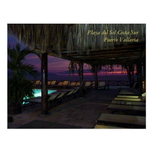 Playa del Sol Costa Sur Postcard