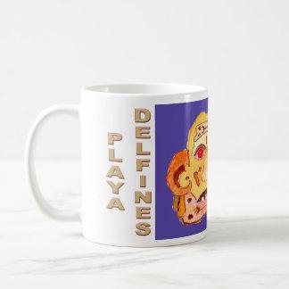 PLAYA DELFINES CANCUN MEXICO COLOP U UICHKIN COFFEE MUG